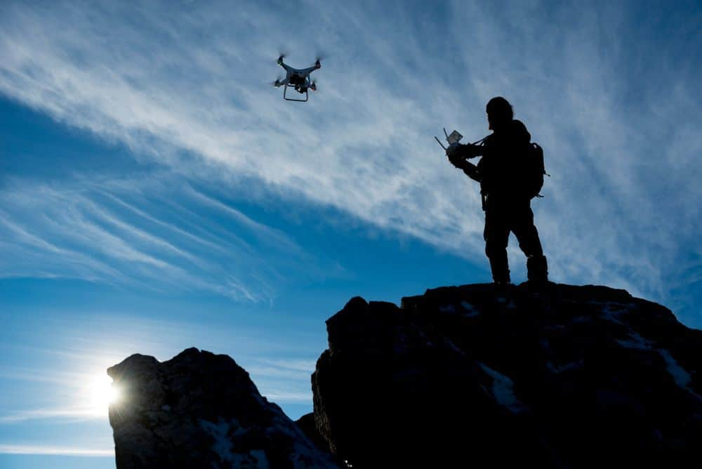 drone pilot and training time-gps
