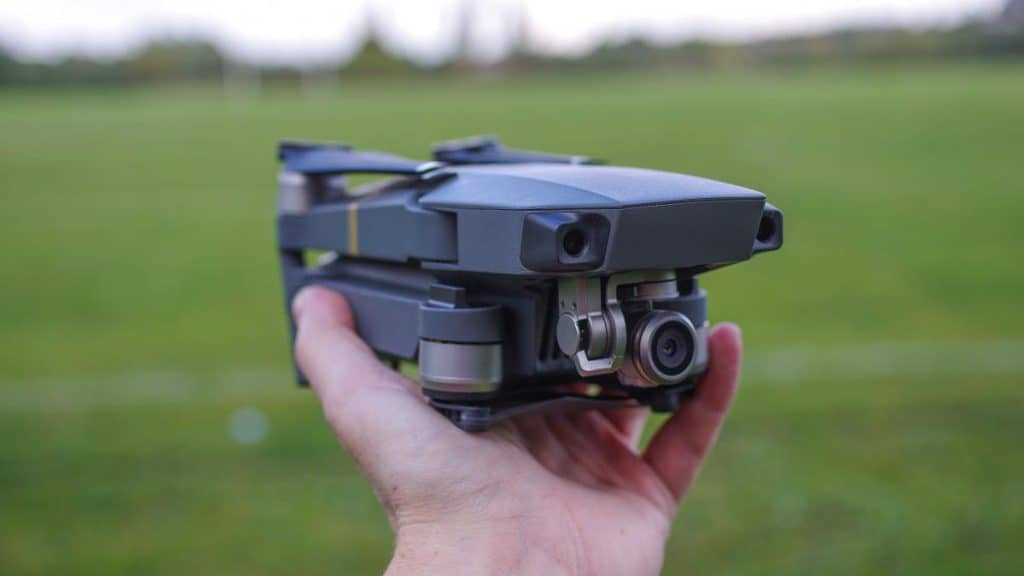 Quick folding Design Dji Mavic Pro