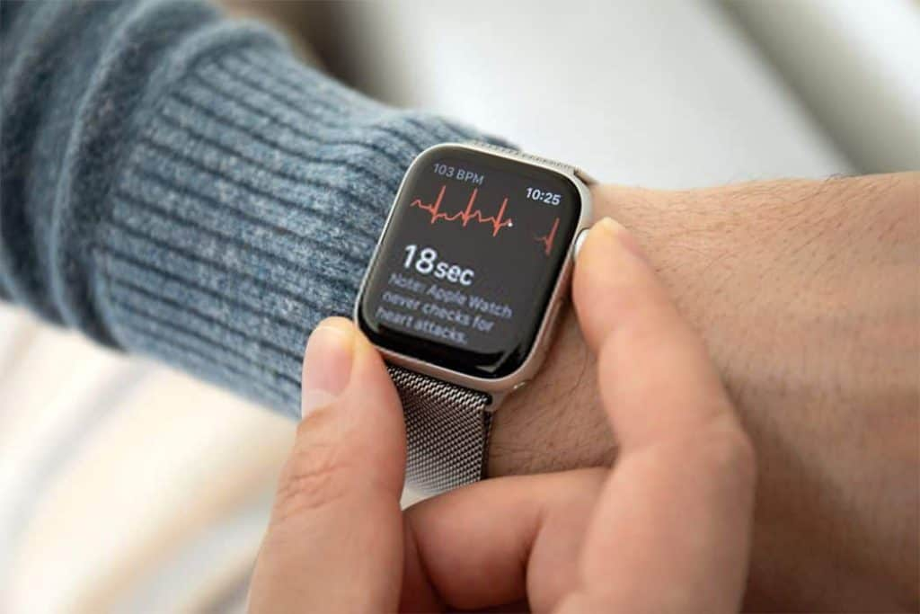 Interface of Apple Watch