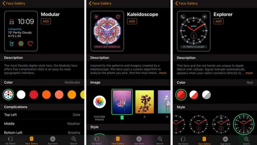 The Interface for Apple Watch