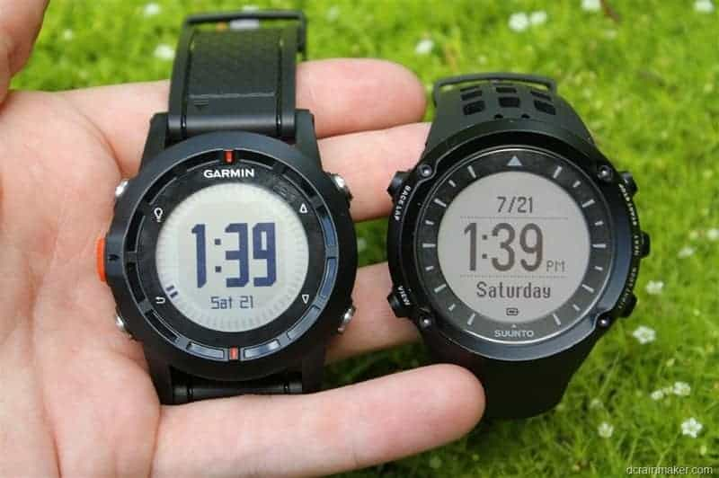 Garmin vs Suunto